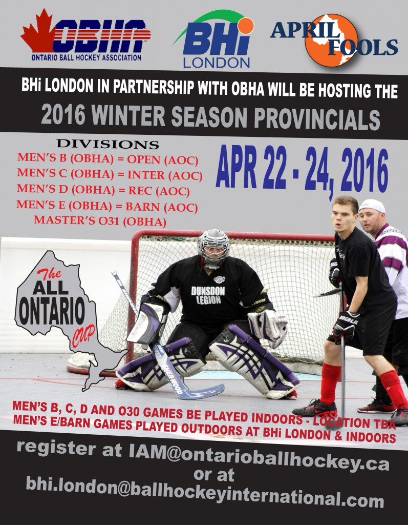 OBHA Winter Championship Flyer