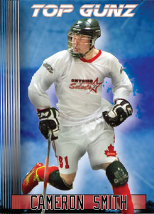 Cameron Smith Hockey Card
