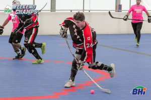 Image of Reapers ball hockey player