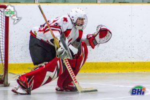 image of outpatients ball hockey goalie