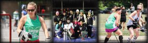 image of womens ball hockey