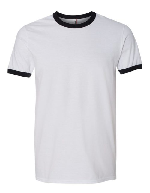 image of: ringer tee