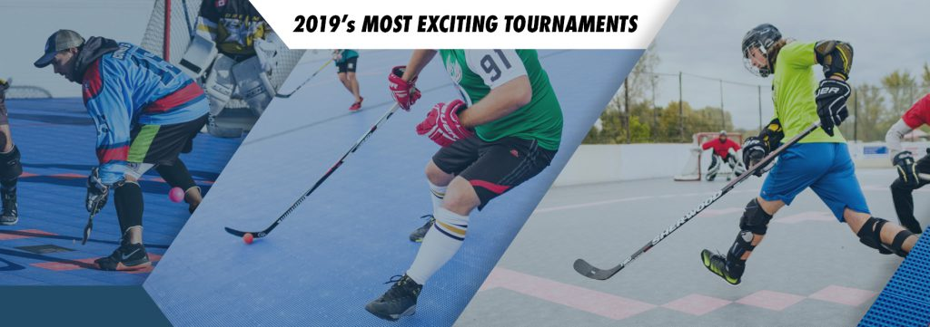 2019 Ball hockey tournaments