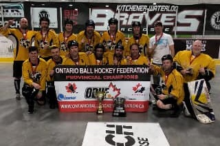 image of obhf men's masters 40+ A champion Kitchener