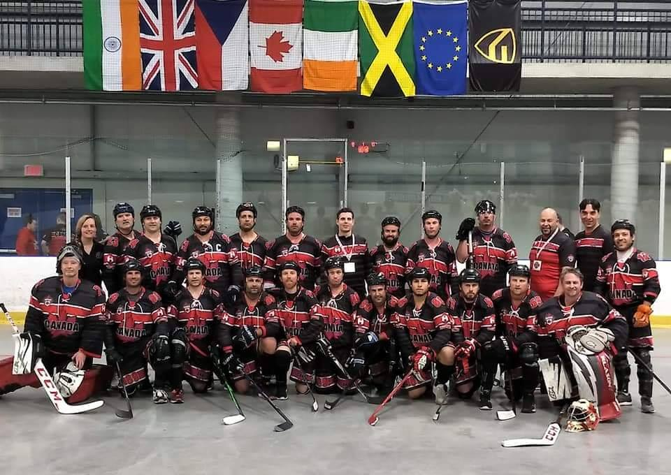image of mens team canada from 2019 wbhf masters tournament