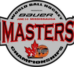 image of world ball hockey federation masters tournament logo