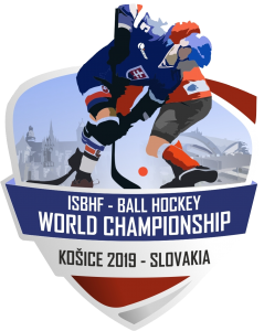 image of 2019 isbhf world championship logo