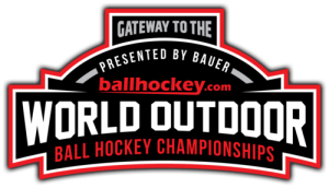image of ballhockey.com gateway to the world outdoor ball hockey championships logo