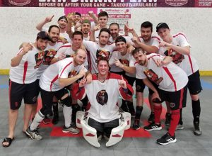 image of hamilton hellfish ball hockey team