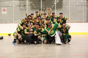 image of montreal A's ball hockey team