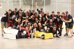 image of montreal punishers ball hockey team