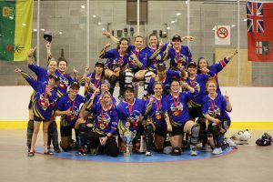 image of Ottawa Sonics ball hockey team