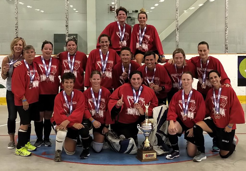image of toronto east stars ball hockey team